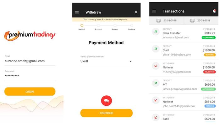 Premium Tradings mobile